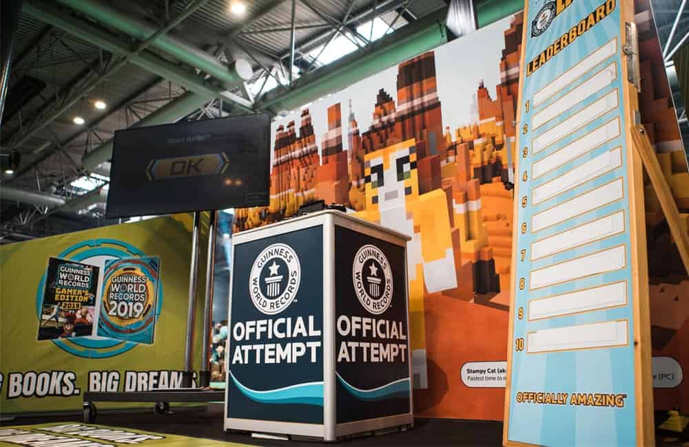 Guinness World Records Branded Show Graphics | XG Group