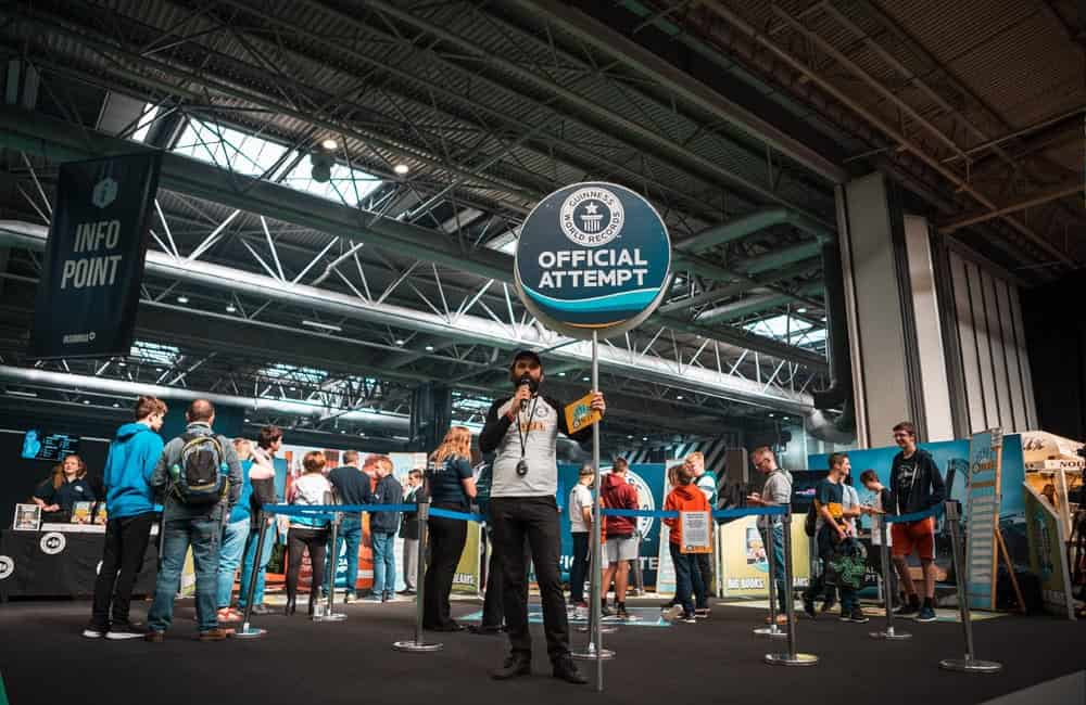 Branded Roadshow Displays Guinness World Records | XG Group