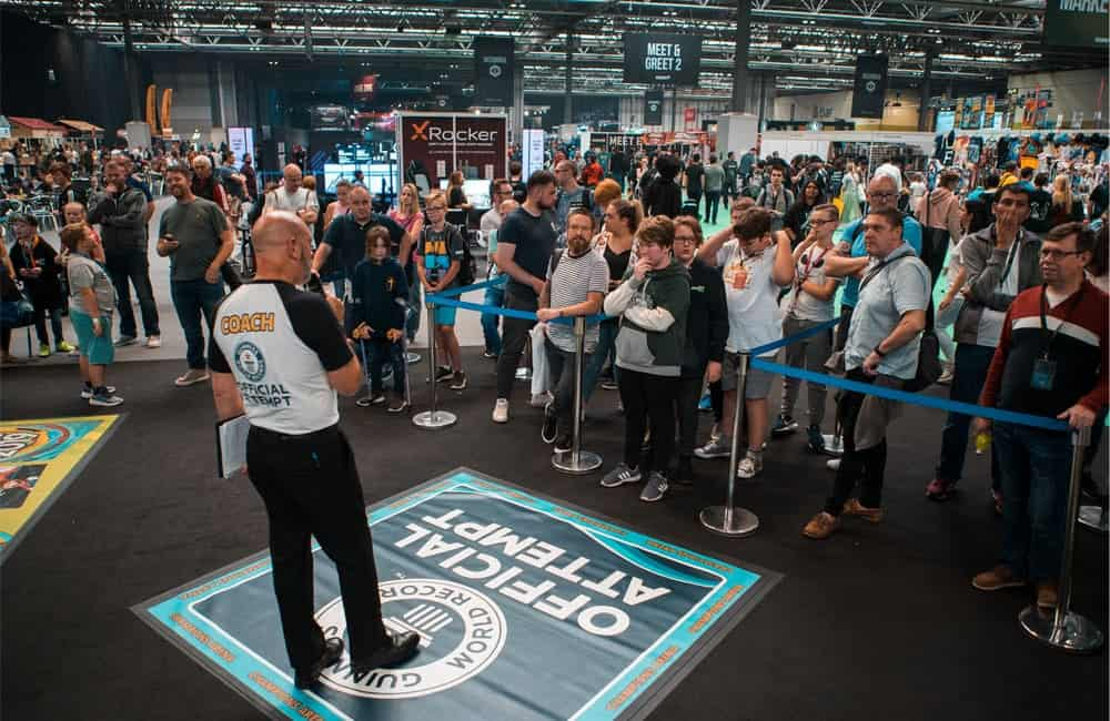 Guinness World Record Live Event Roadshow Graphics | XG Group