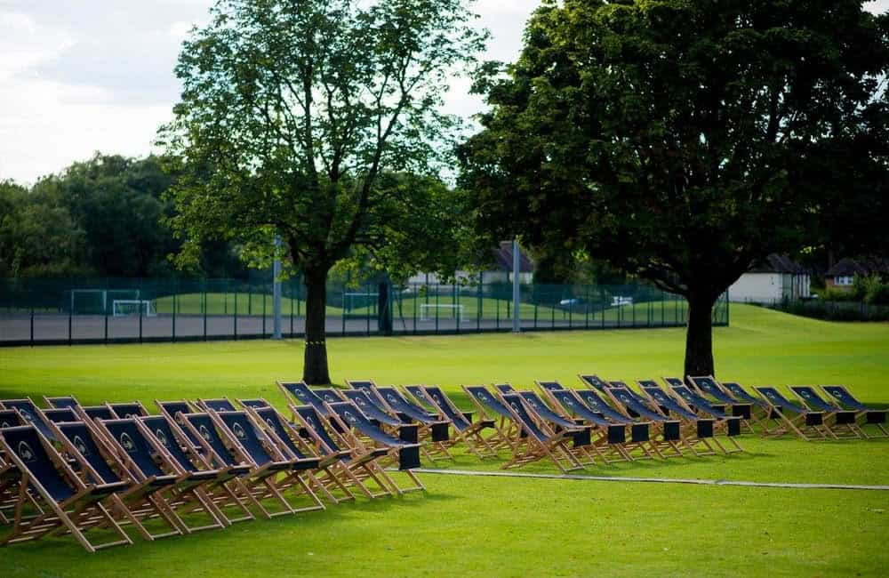 Custom Printed Event Deck Chairs | Leffe Beer Branded