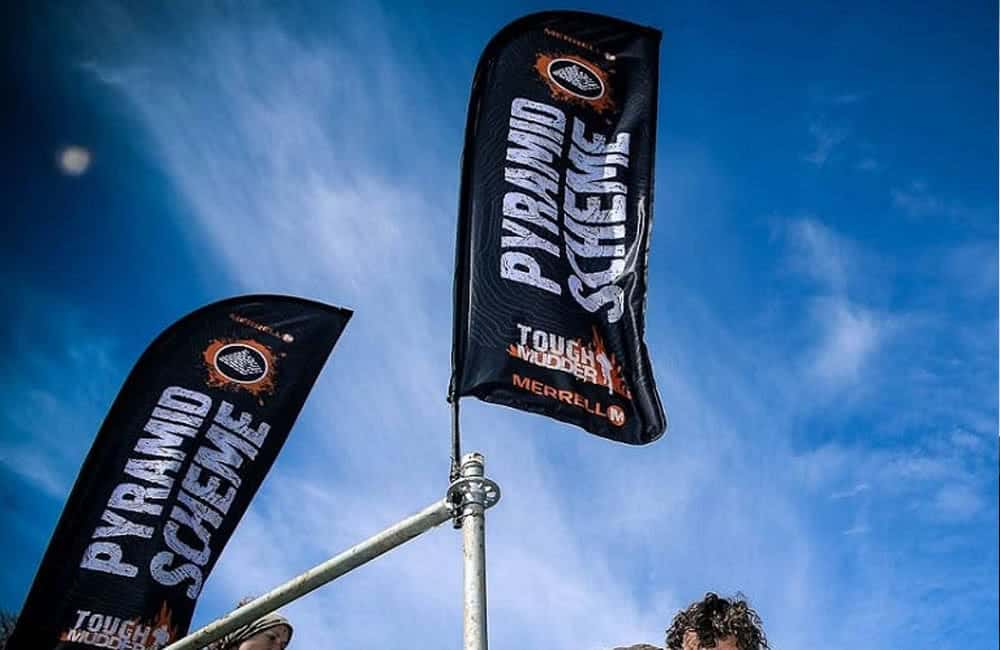 Branded Event Flags | Tough Mudder