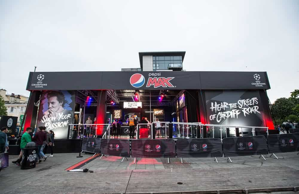 Pepsi Max Experiential Graphics | Initials Marketing