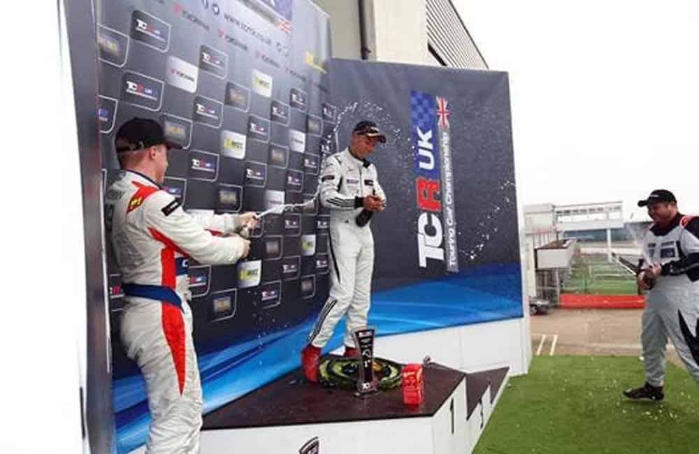 TCR UK podium graphics | XG Group