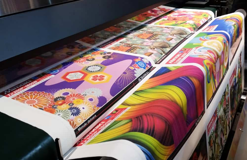Large format fabric printing | XG Group