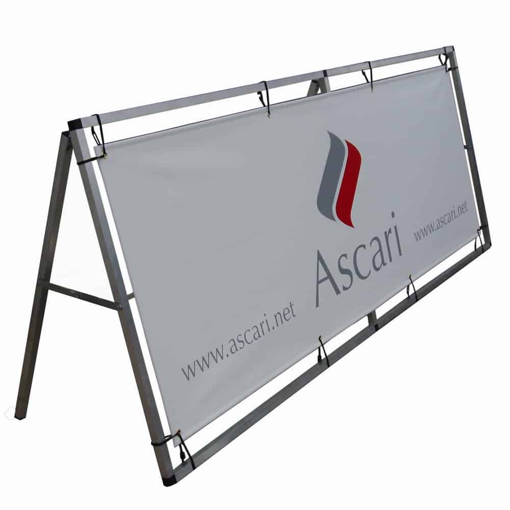 Single sided A frame banner | XG Group