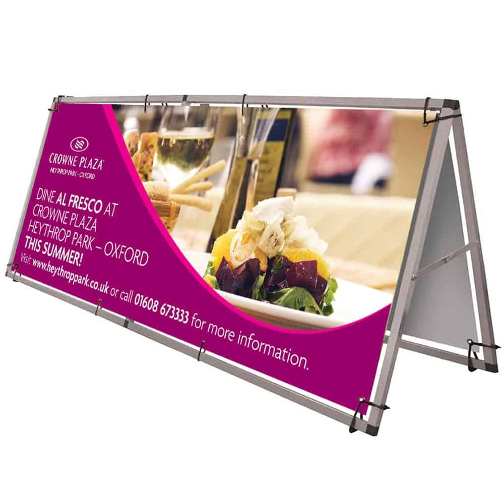Custom printed A frame banners | XG Group