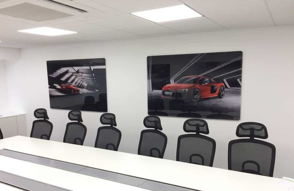Office graphics - automotive retailer | XG Group