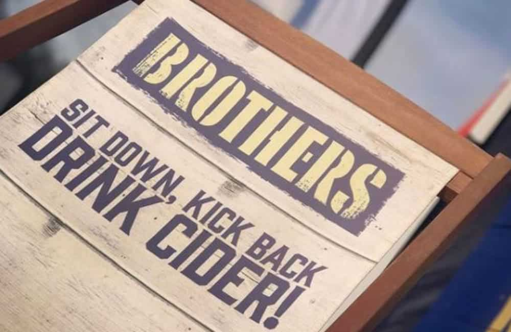 Brothers Cider branded deckchairs | XG Group