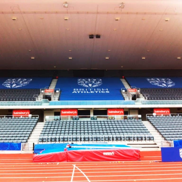 Giant crowd banners as stadium seat covers | XG Group