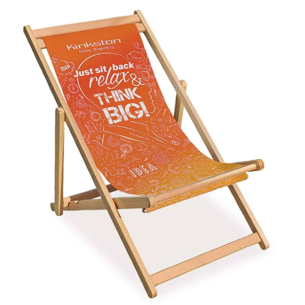 XG Group branded deck chairs with interchangeable graphics | XG Group