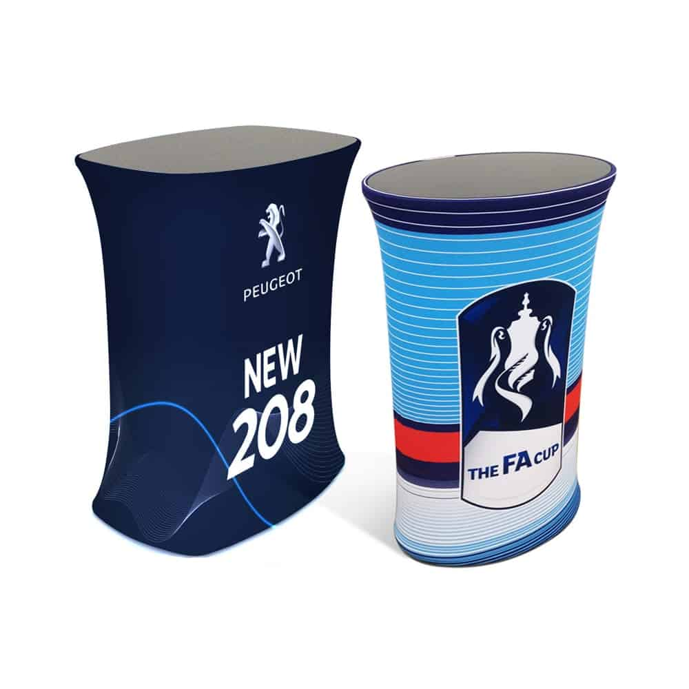 Stretch Fabric Printed Display Counters   XG Group