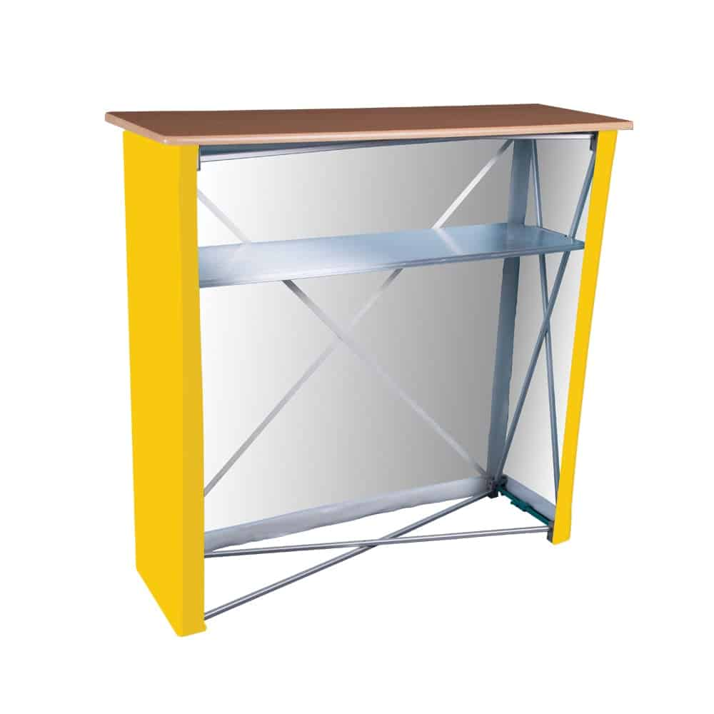 Fabric Display Counter Back | XG Group