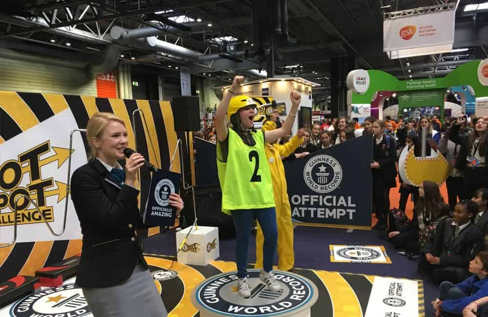 Guinness World Records Roadshow Graphics | XG Group