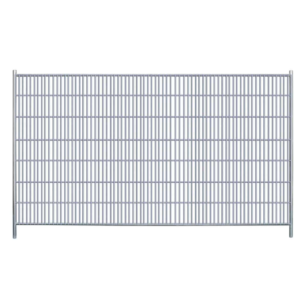 Heras Fence Banner Size Diagram
