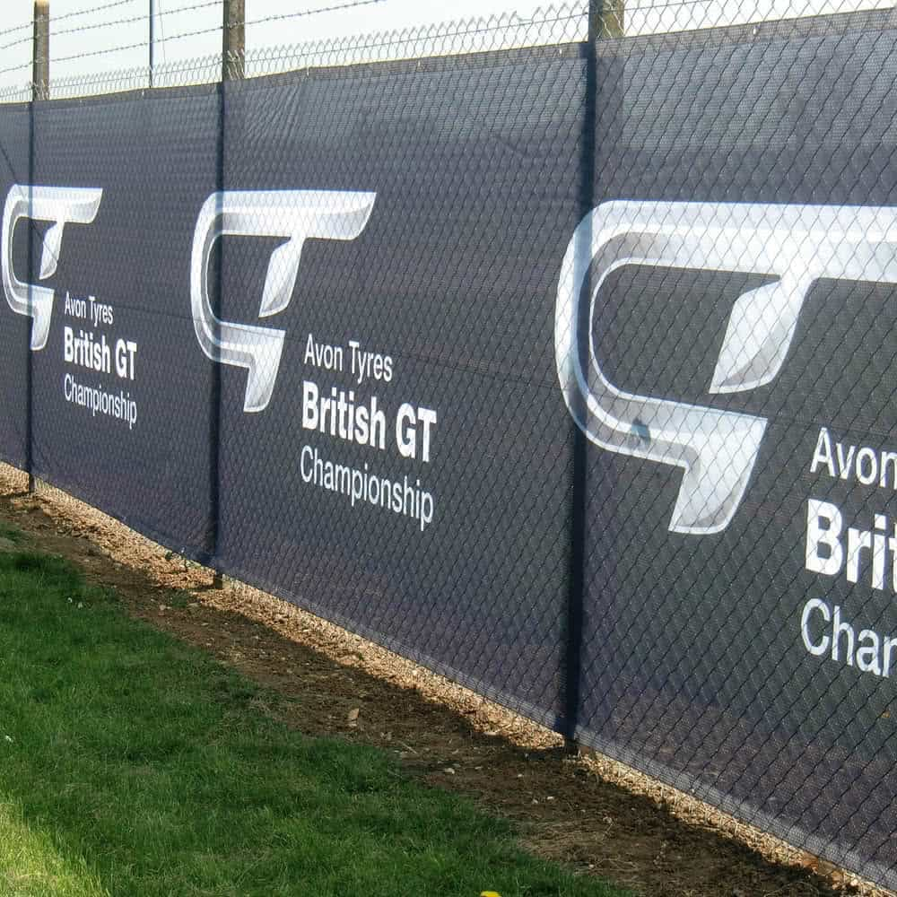Custom printed fencing banners | XG Group