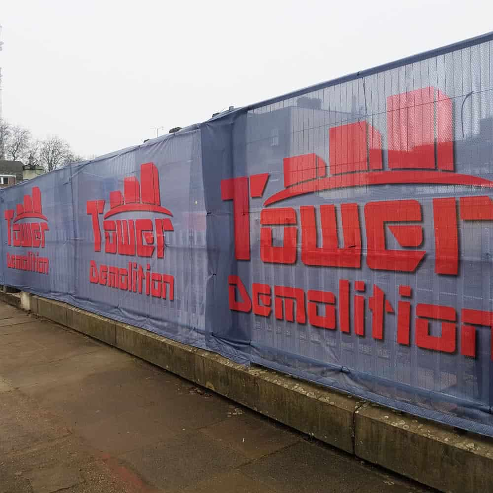 Printed heras fence covers | XG Group