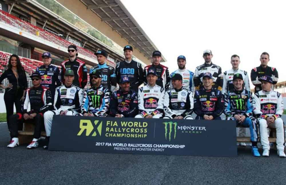 Branded toblerone event signage for FIA World Rallycross Championship   XG Group