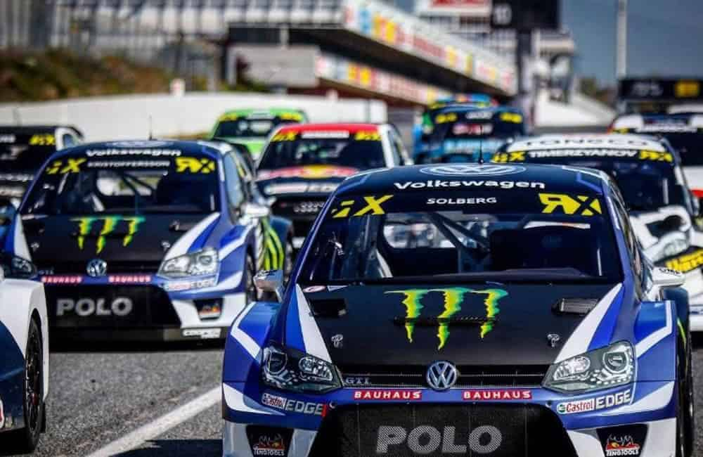FIA World Rallycross Championship printed car decals   XG Group