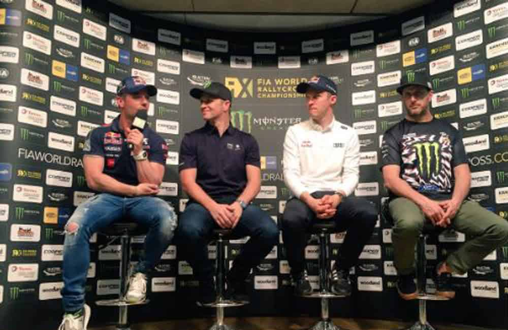Event branding graphics for FIA World Rallycross Championship   XG Group