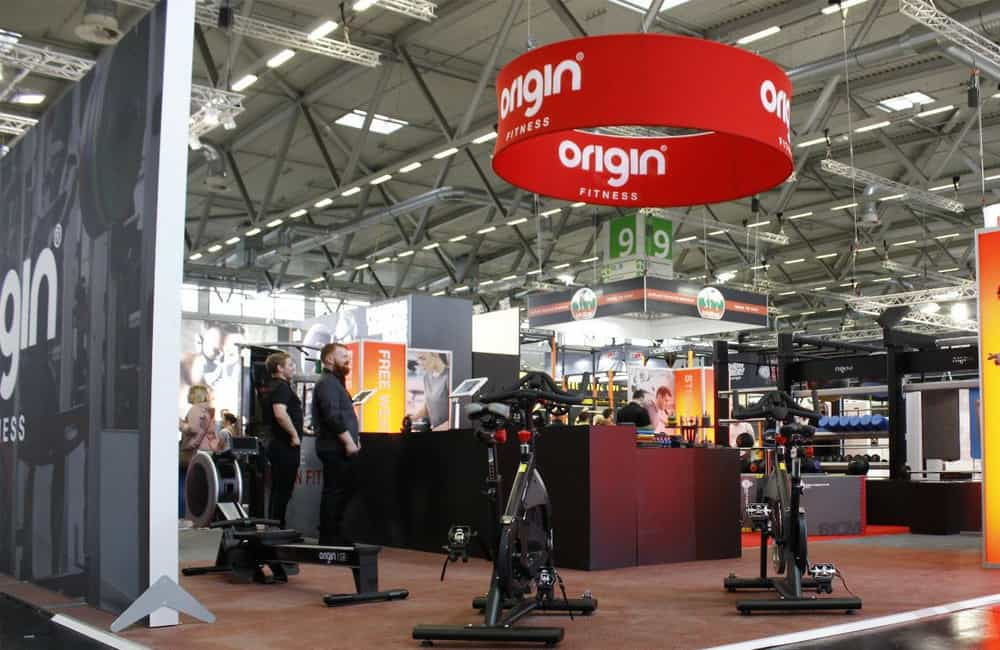 Overhead Fabric Display Structures | XG Group