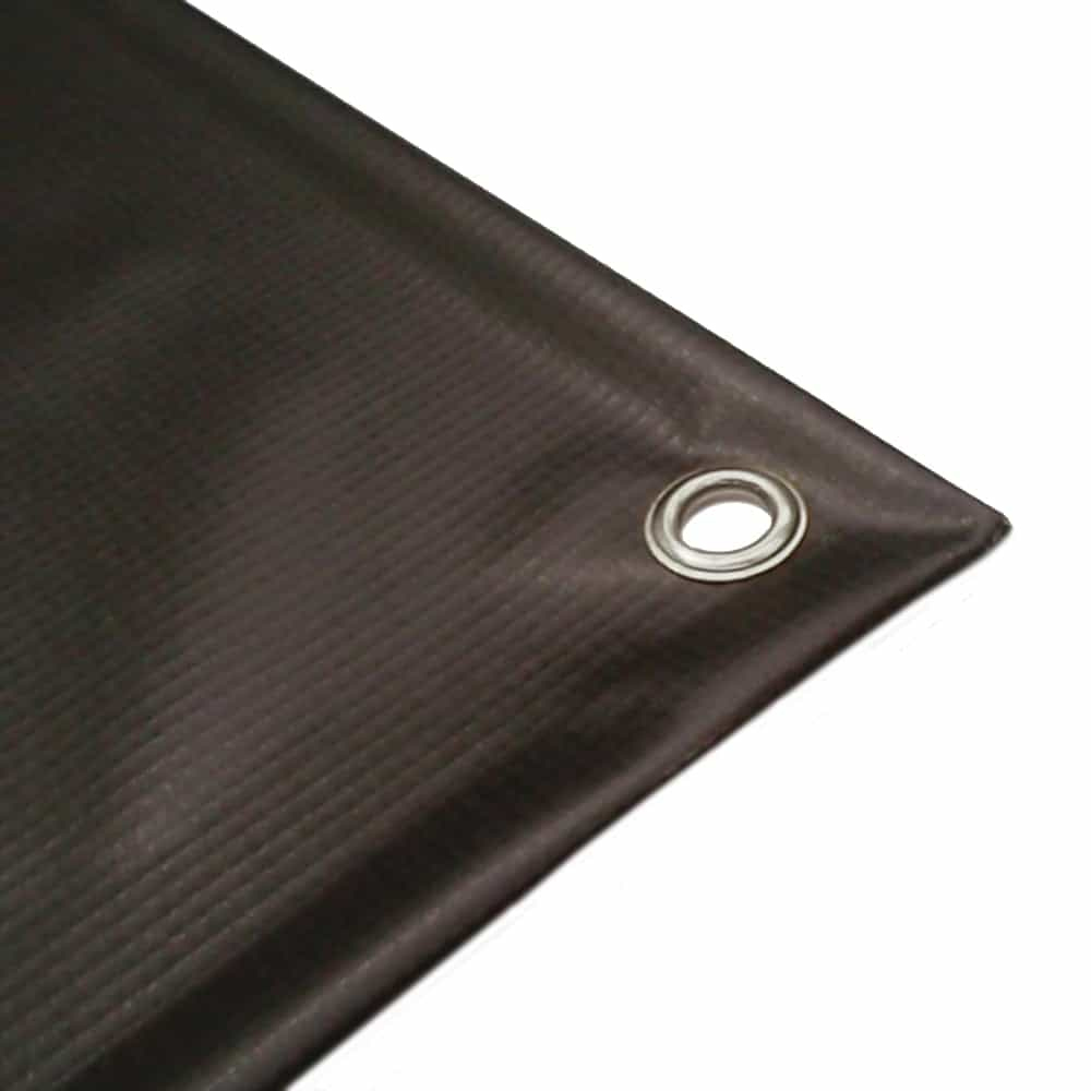 PVC hem and eyelet close up | XG Group