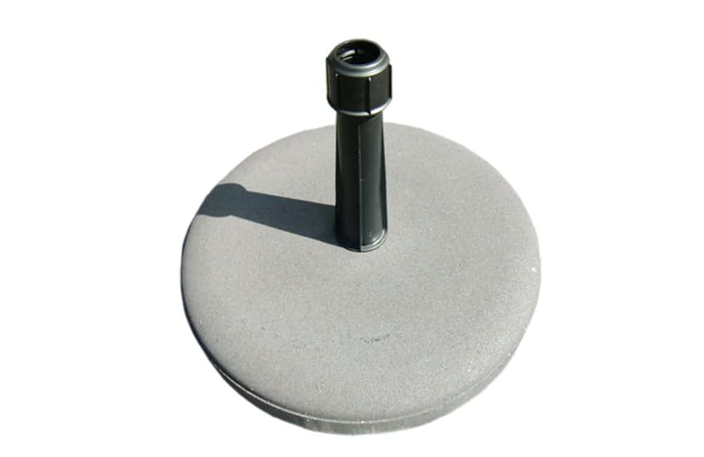 Branded parasols concrete base | XG Group