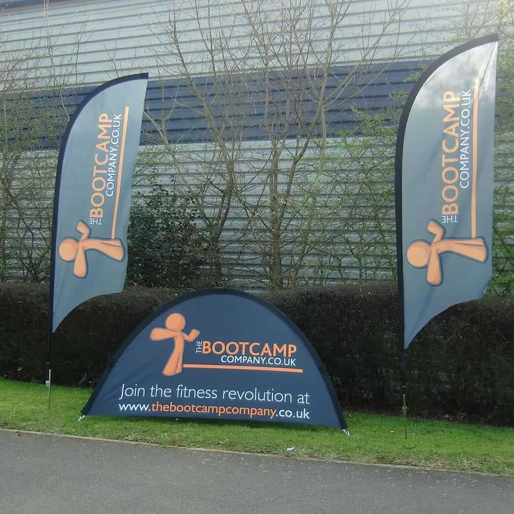 Fabric pop up event banners for instant branding | XG Group
