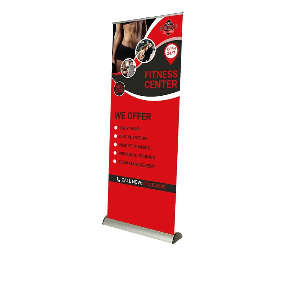Barracuda Roller Banner | Full Colour Printed
