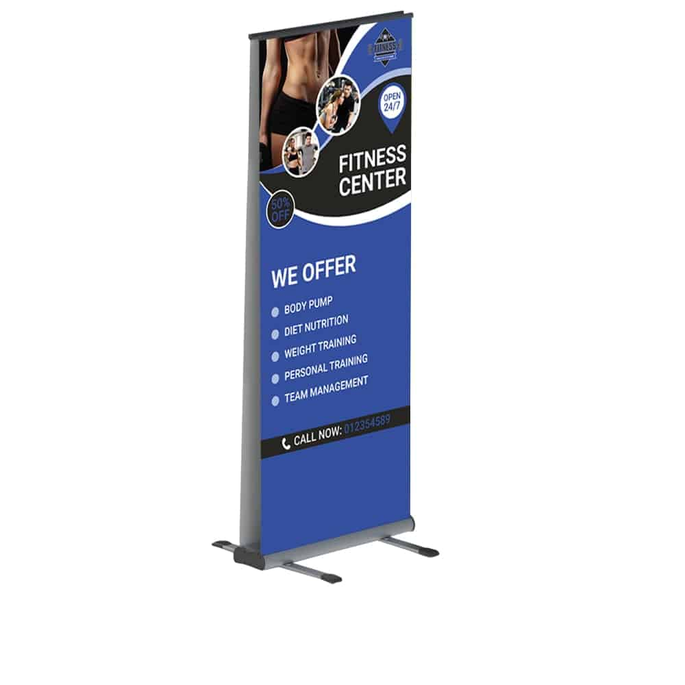 Outdoor Roller Banners | XG Group