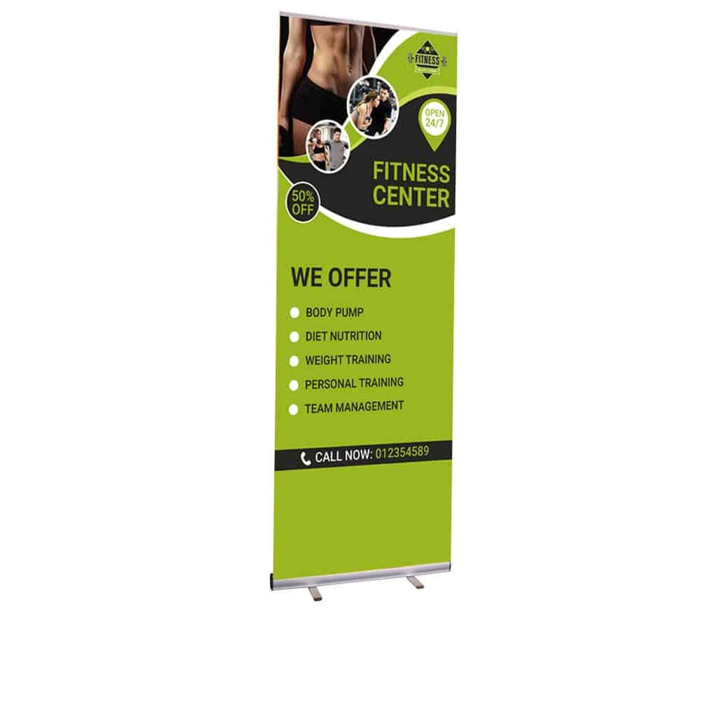 Tall Roller Banners | XG Group