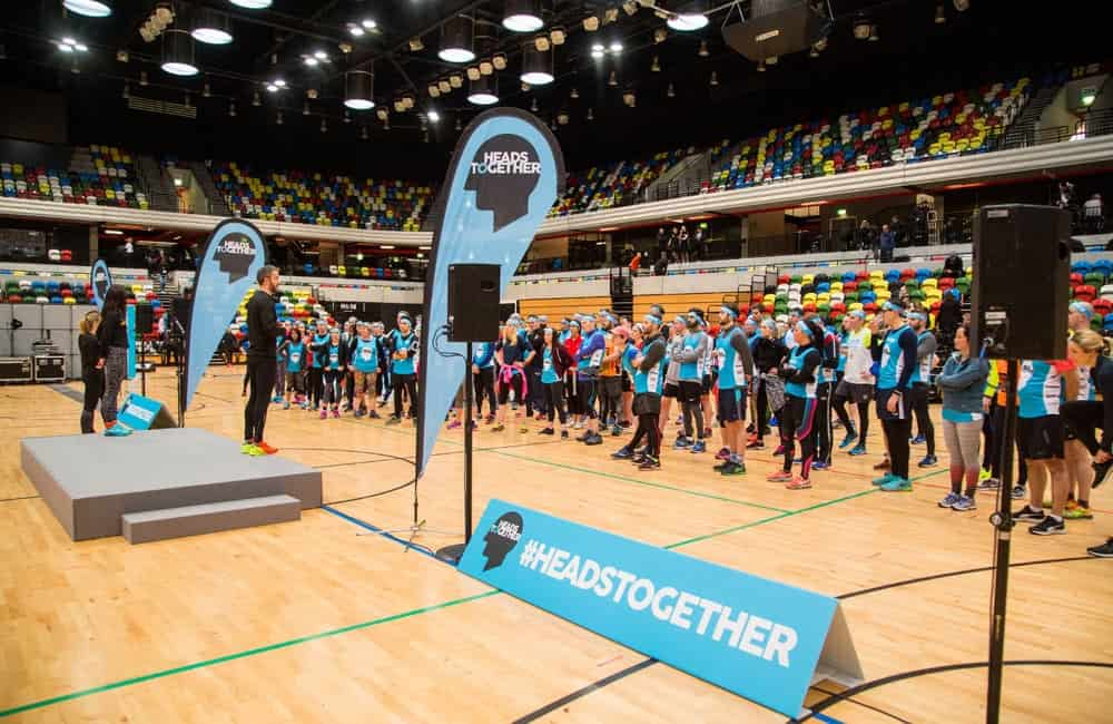 Branded event graphics for Heads Together charity | XG Group
