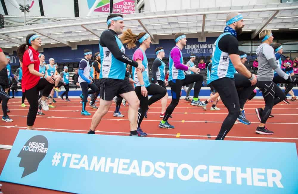 Branded toberlone event signage for Heads Together campaign | XG Group