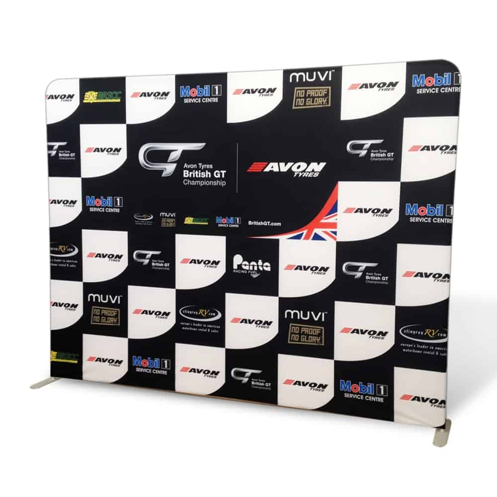 Straight stretch fabric display | XG Group