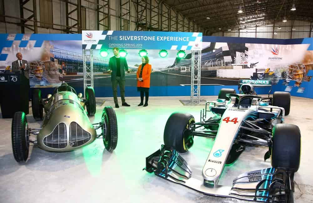 Silverstone Experience launch event graphics | XG Group