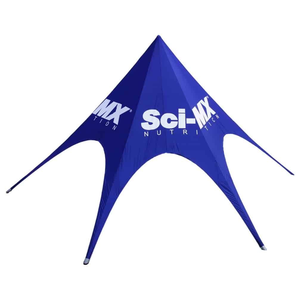 Branded Star Tents | XG Group