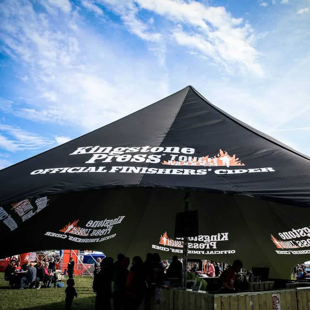 Branded Single Peak Star Tent | XG Group