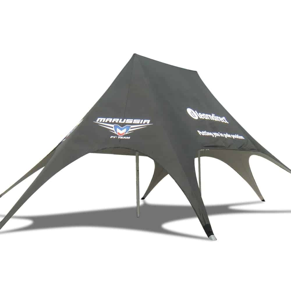 Double Peak Branded Star Tent | XG Group