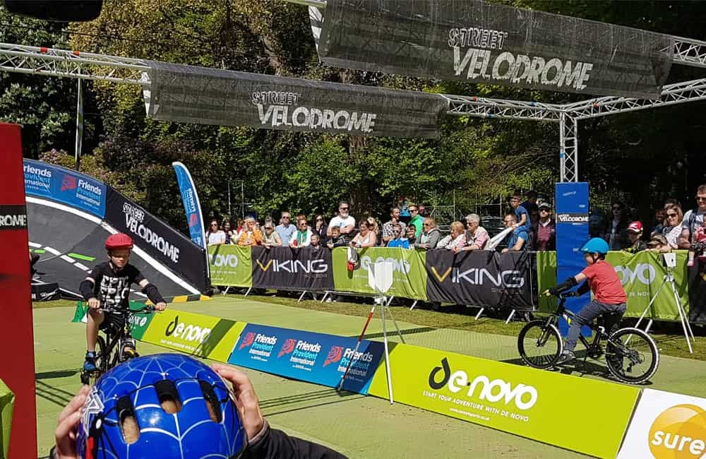 StreetVelodrome event branding graphics | XG Group