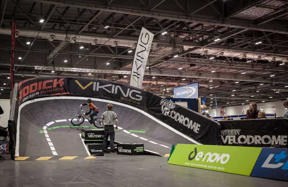 Perimeter branding graphics for StreetVelodrome events
