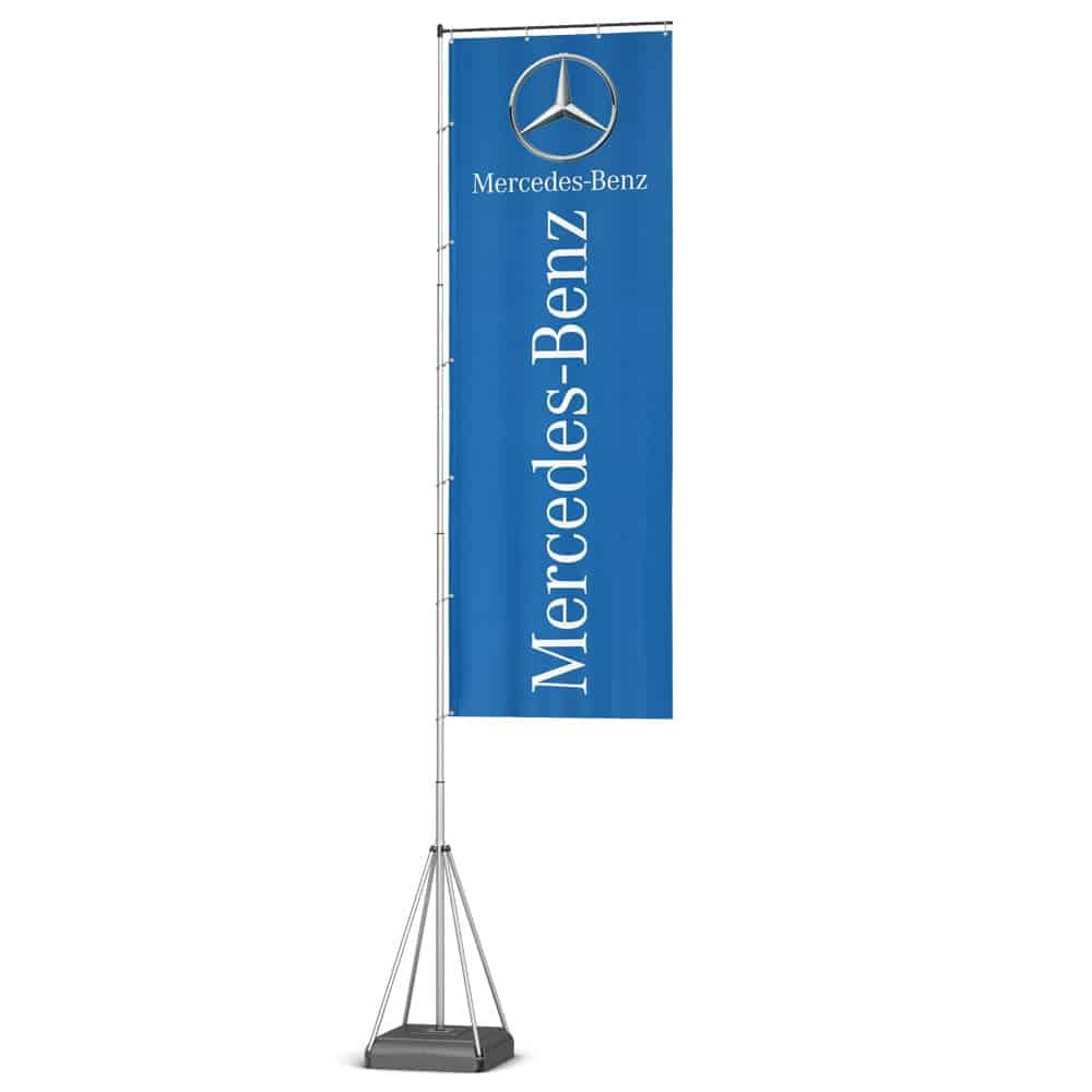 Branded Tall Wind Dancer Flags | XG Group