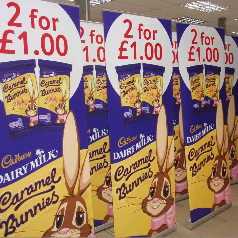 Roller Banners - range of sizes and prices | Printed by XG Group