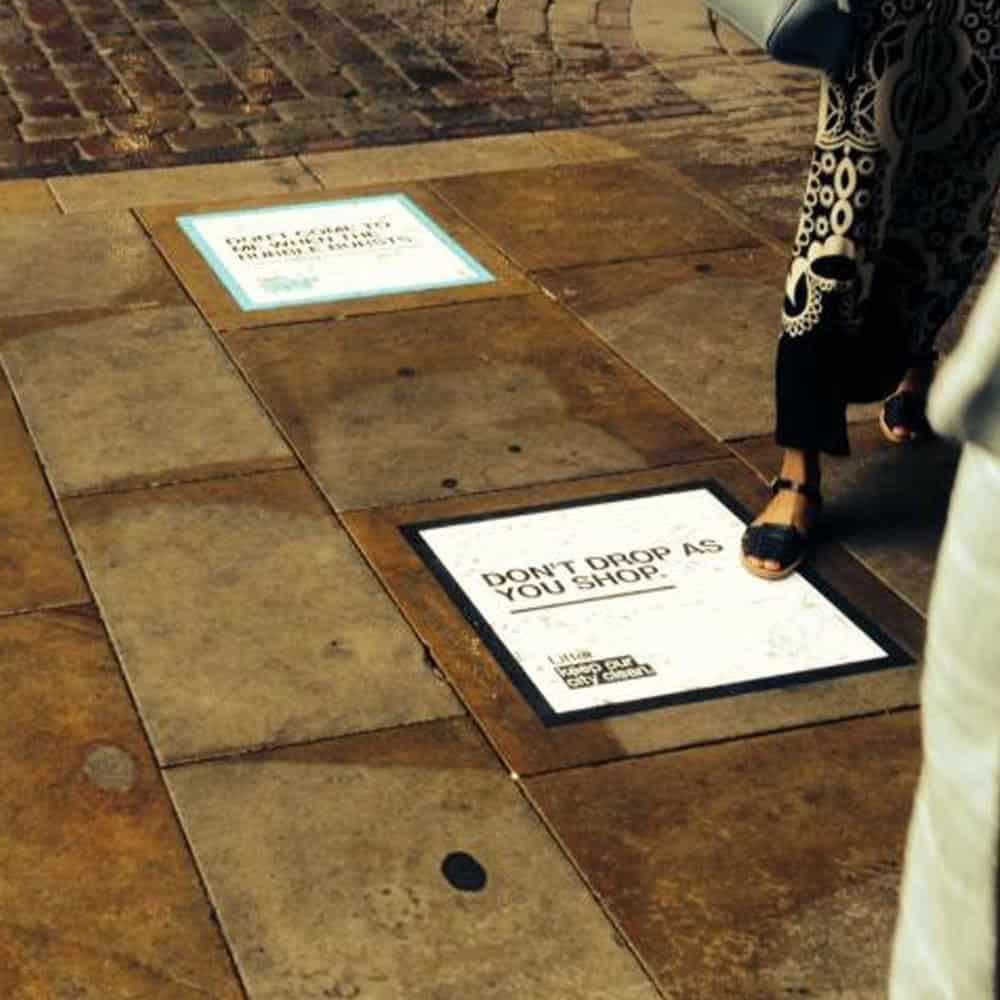Outdoor Floor Graphics | XG Group