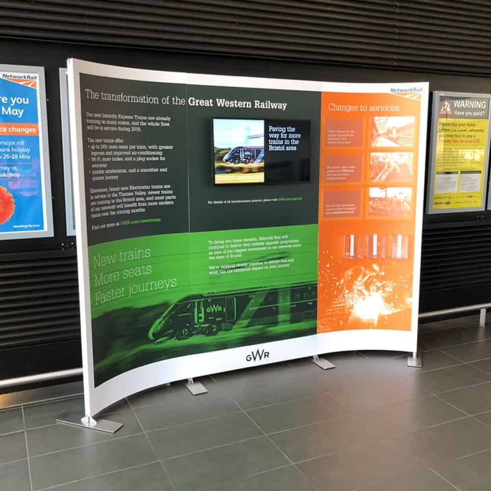 Tension Fabric Systems | Freestanding Displays