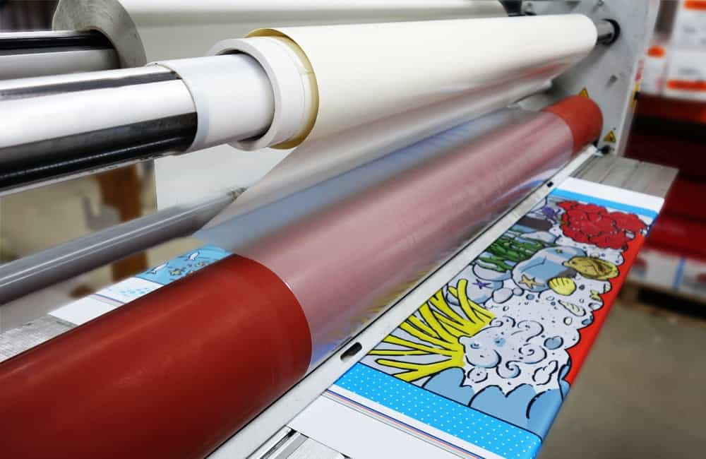 Graphic Lamination Process | XG Group