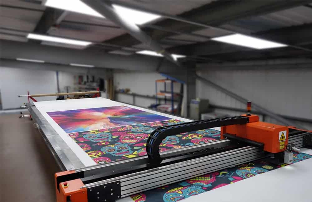 Laser Cutting Large Format Graphics Production