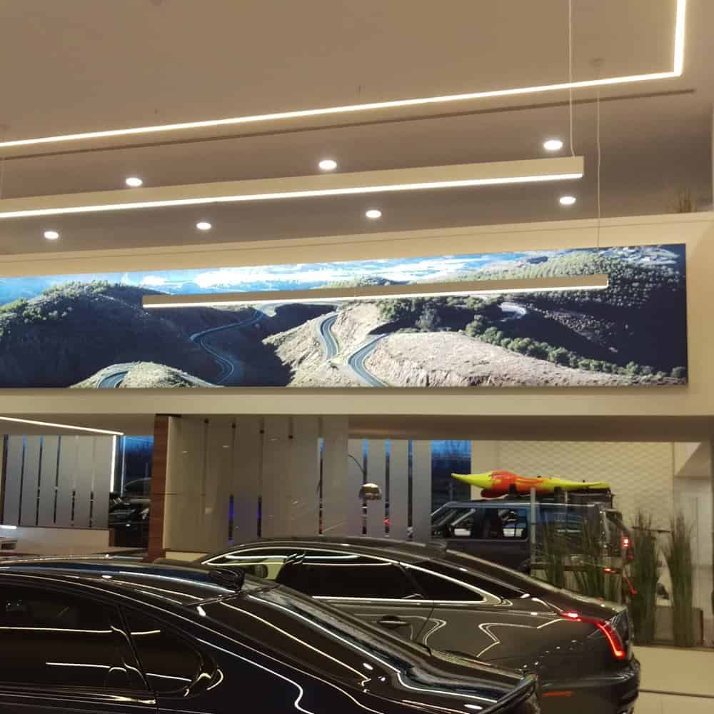 Tension Fabric Light Box Displays | XG Group