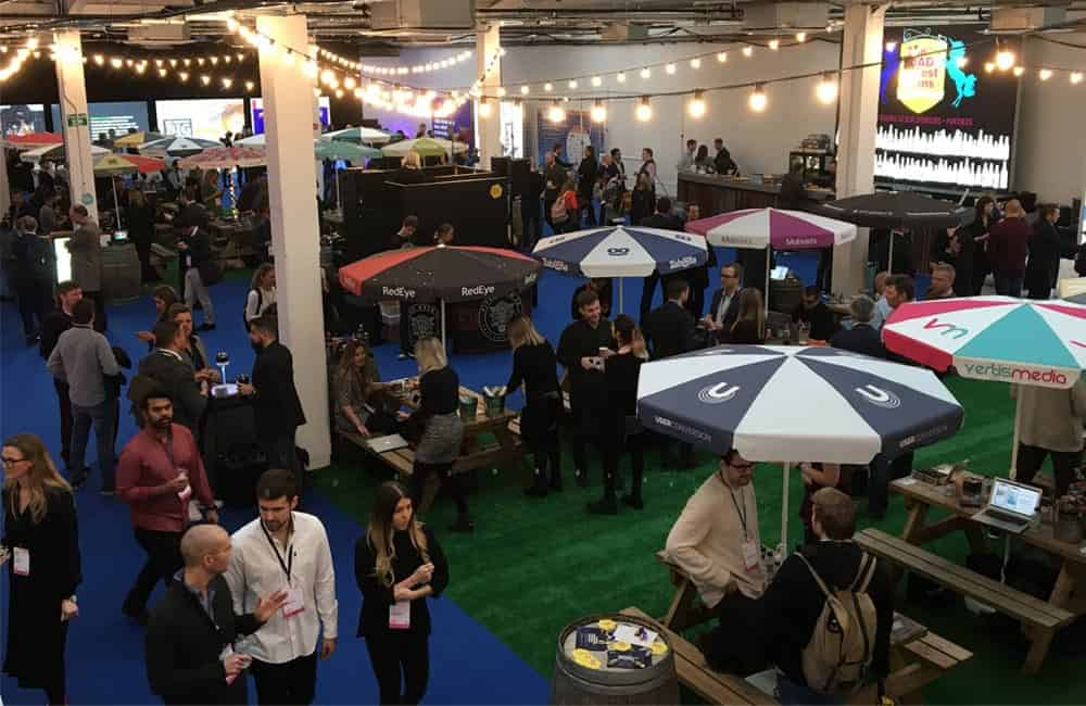 Mad Fest Event Branded Parasols | XG Group