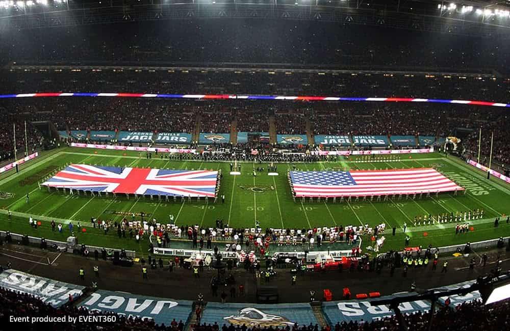 Large format printed stadium graphics | XG Group