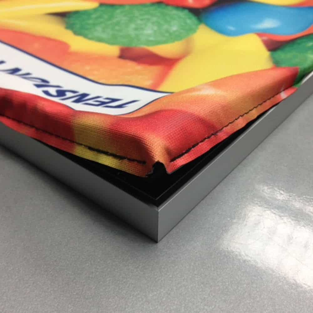 Light Box Display Tension Fabric Graphics