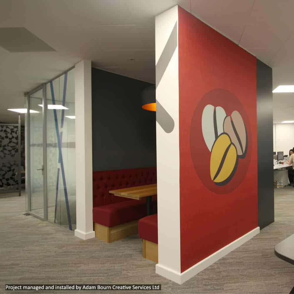 Digitally Printed Wall Graphics | XG Group